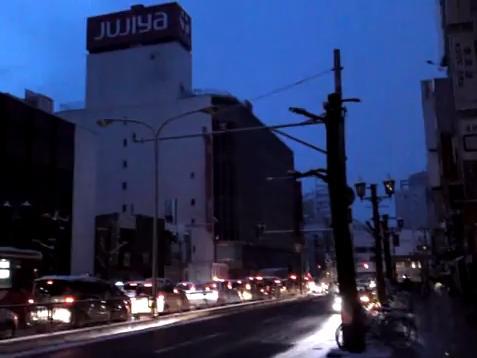 3月11日山形駅前
